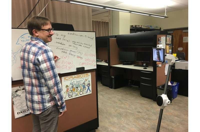 For university classrooms, are telepresence robots the next best thing to being there?