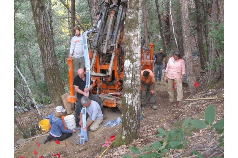 Fractured bedrock in forests is overlooked source of natural CO2