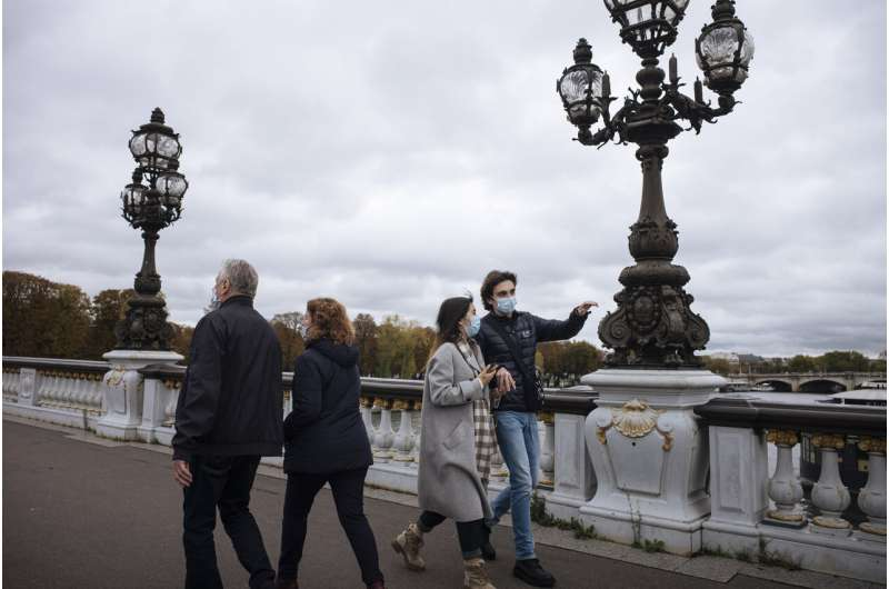 France imposes new national lockdown as virus deaths mount