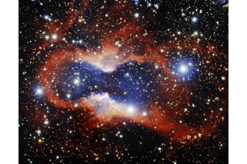 Gemini South telescope captures exquisite planetary nebula
