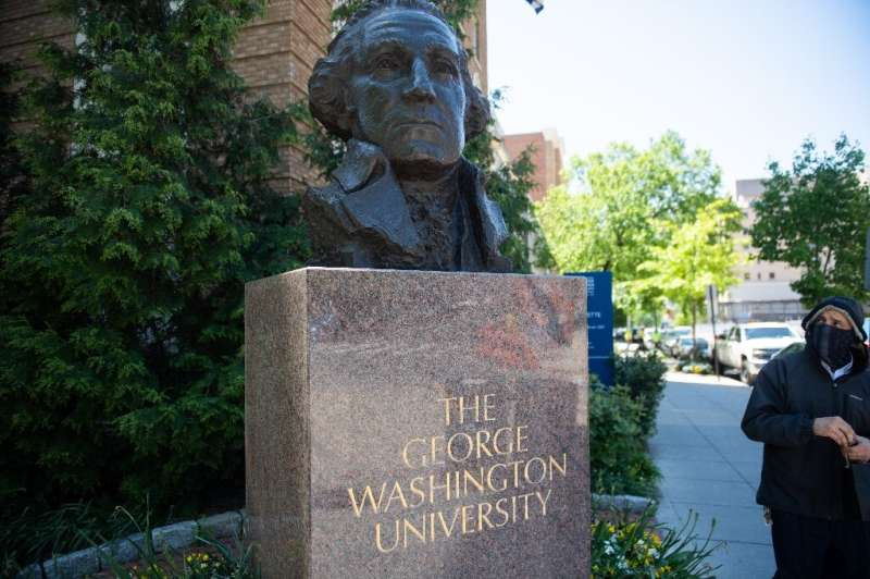 George Washington University is one of several top-flight colleges in the US capital