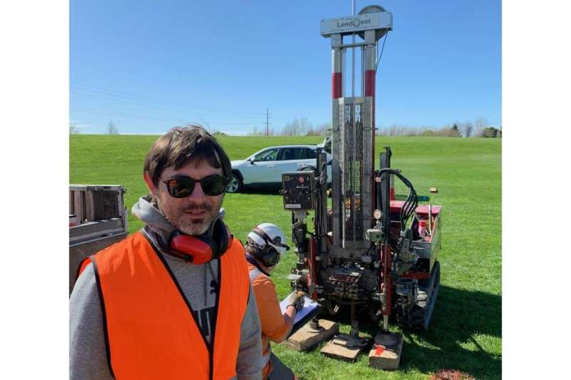 Gravelly soil could provide a new understanding of liquefaction