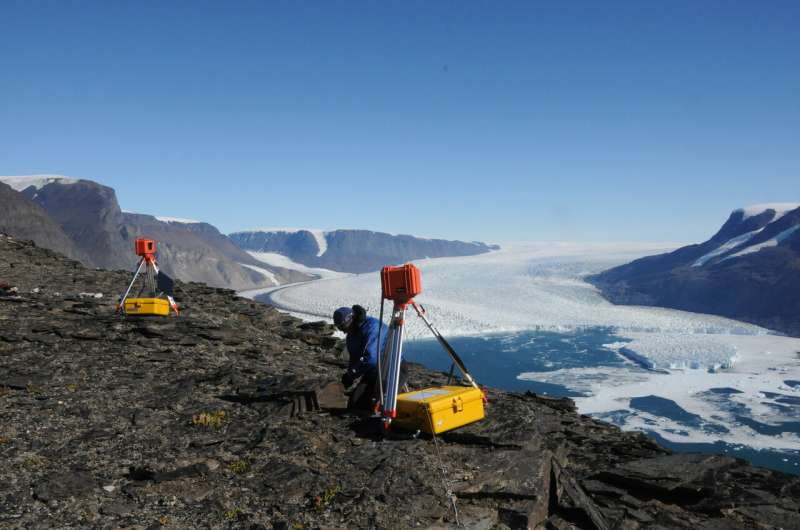 Greenland 'knickpoints' could stall spread of glacial thinning