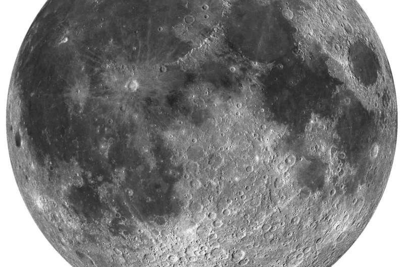 Has Earth's oxygen rusted the Moon for billions of years?