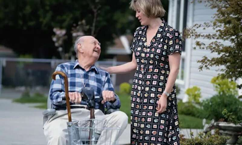 Health worse for baby boomer caregivers versus noncaregivers