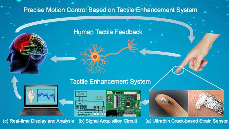 Highly sensitive sensors show promise in enhancing human touch