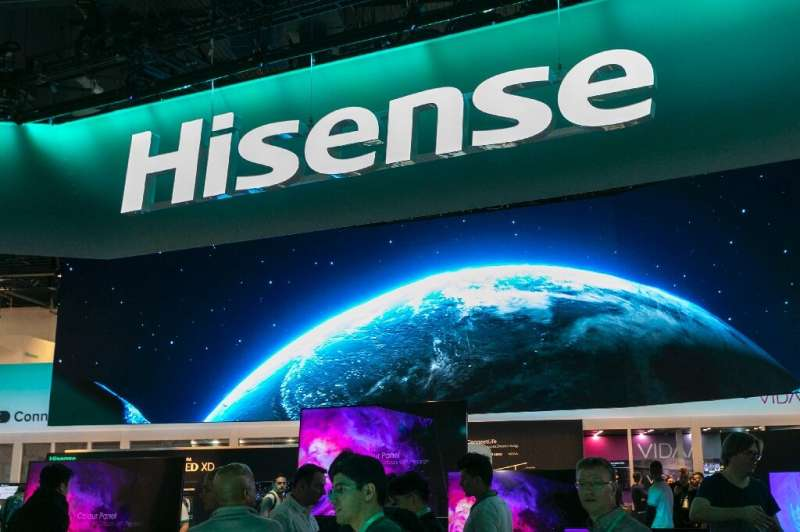 Hisense and other Chinese firms had a strong presence at the 2020 Consumer Electronics Show despite geopolitical tensions