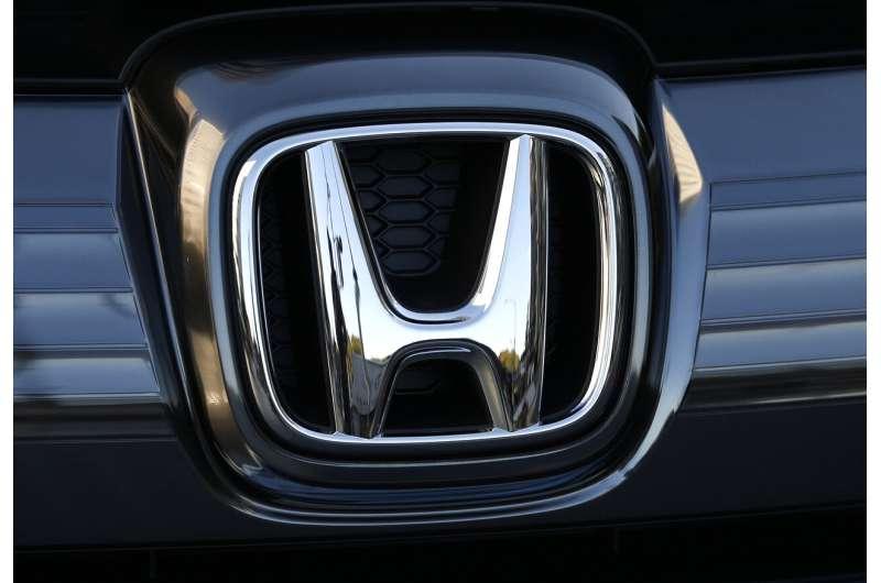 Honda recalls 1.6M vans and SUVs in 4 different US recalls