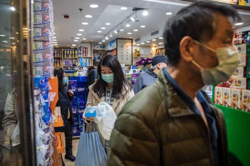 Hong Kong has seen panic-buying at pharmacies and supermarkets