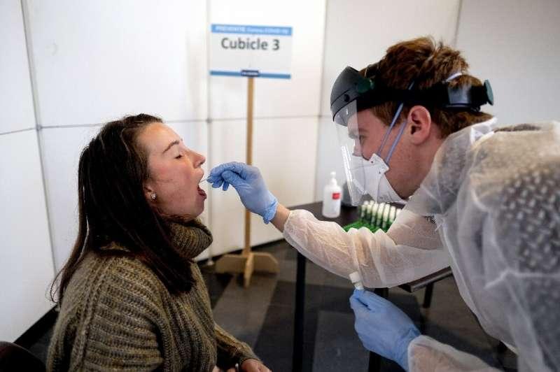 Hospitalisations in Belgium have risen 100 percent in the last week