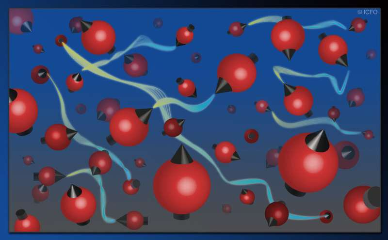 'Hot and messy' entanglement of 15 trillion atoms