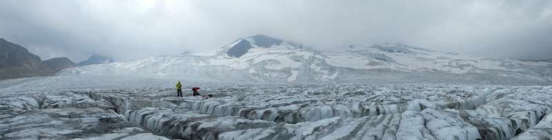 How might this year's forest fires impact glaciers in the West?