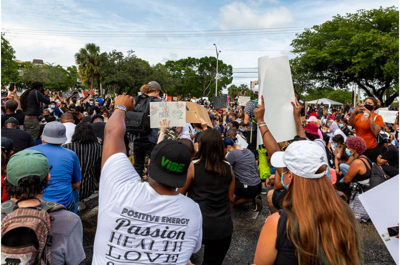 How protesters can protect their mental and physical health