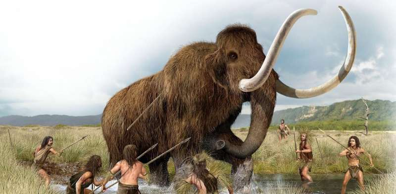 How the extinction of ice age mammals may have forced humans to invent civilisation