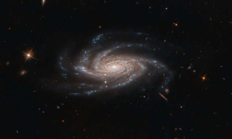 Hubble Embraces Spiral With Open Arms