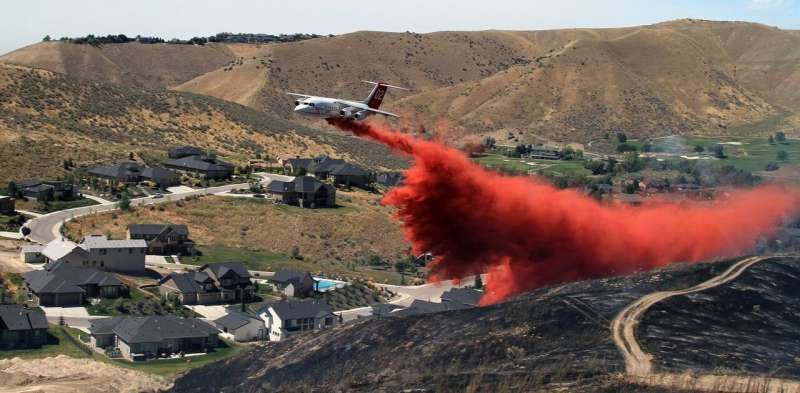 Humans ignite almost every wildfire that threatens homes
