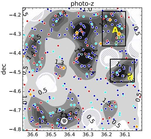 Hundreds of candidate galaxies identified in the protocluster D1UD01