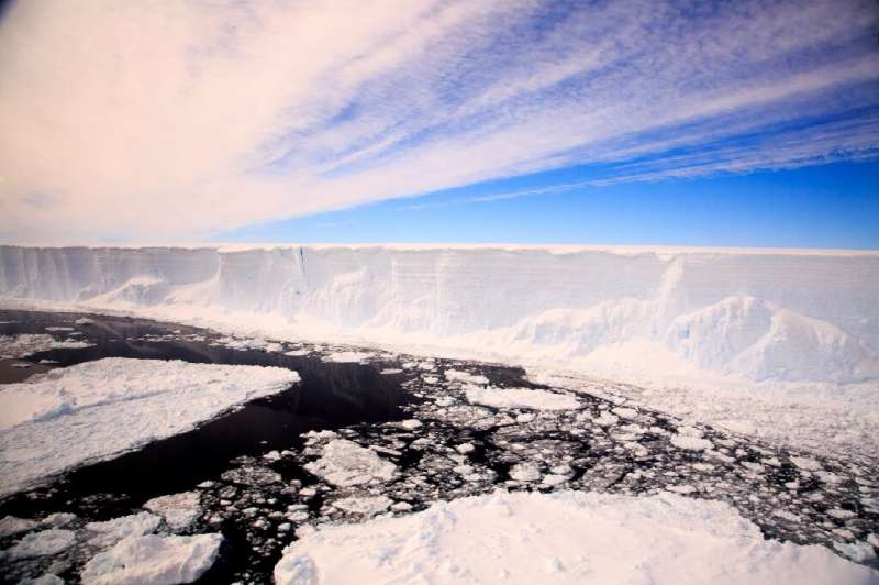 Icebergs naturally break off from Antarctica into the ocean, but climate change has accelerating the process
