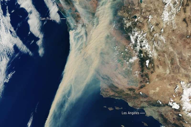 Image: California on fire