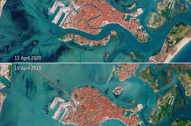 Image: Deserted Venetian lagoon