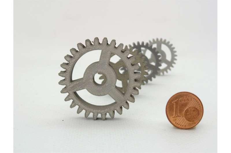 Image: Desktop 3-D printing in metal or ceramics