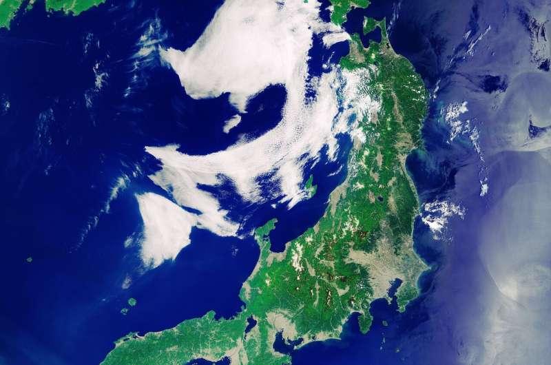 Image: Japanese archipelago