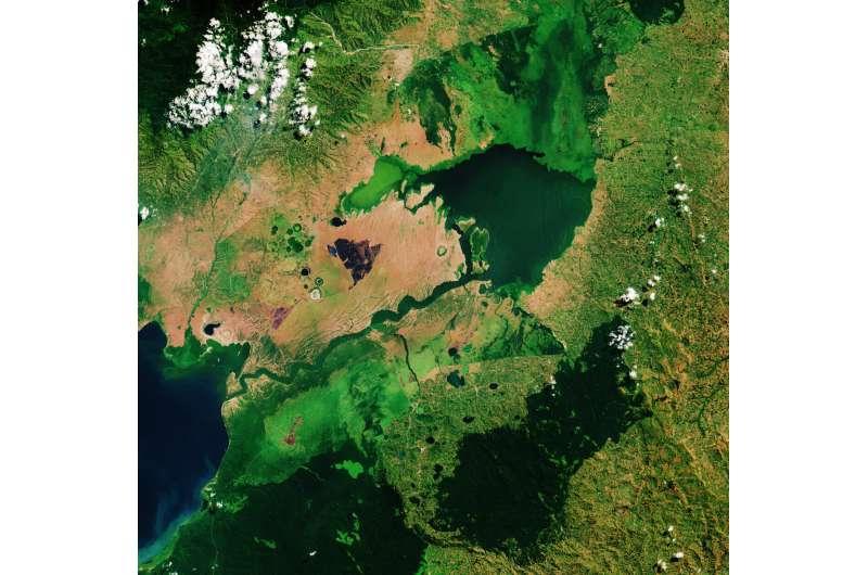 Image: Lake George, Uganda