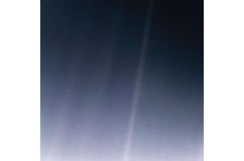 Image: 'Pale Blue Dot' revisited