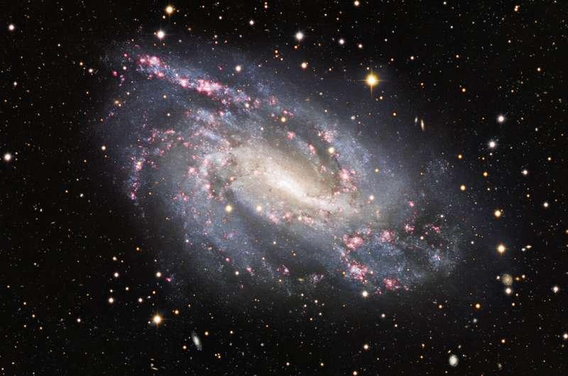 Image: Snapshot of cosmic pyrotechnics