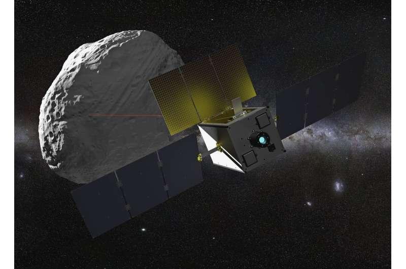 Image: Suitcase-sized asteroid explorer