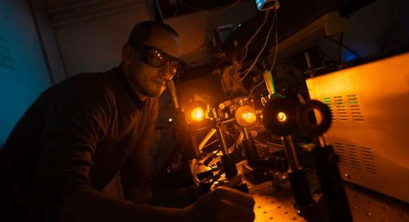 Improved laser system will help large optical telescopes gather more accurate data