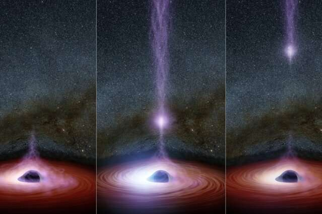 In a first, astronomers watch a black hole's corona disappear, then reappear