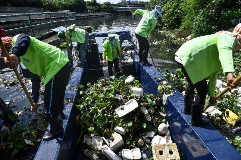 In Bangkok alone, rubbish leapt by 62 percent in April