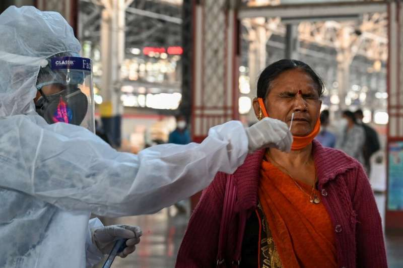 India is the world's second worst affected country by Covid-19, recording nearly 9.7 million infections and more than 140,000 de