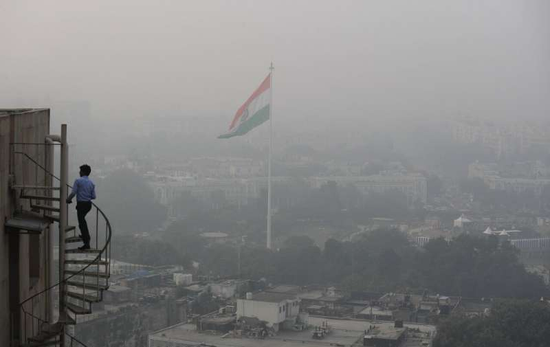 Indian capital launches campaign to curb toxic air pollution