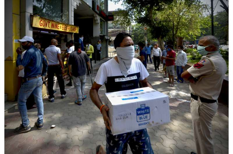India's virus lockdown eased while infection rate speeds up