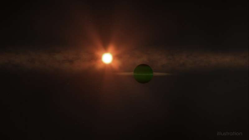 'Infant' planet discovered by UH astronomers, Maunakea telescope