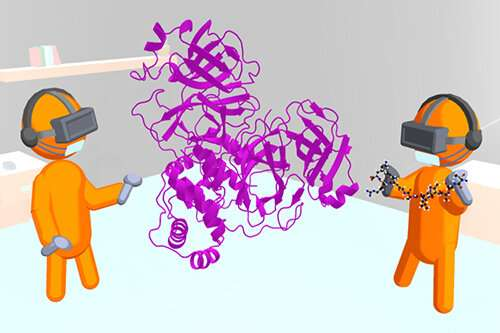 Interactive virtual reality emerges as a new tool for drug design against COVID-19