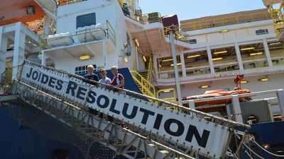 International team starts on drilling expedition