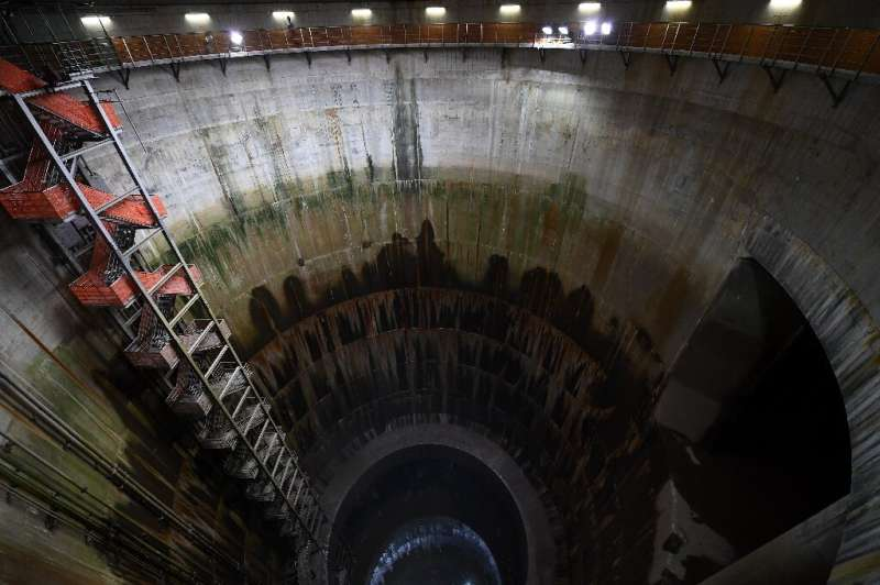 In Tokyo alone—a city cut through by more than 100 rivers—there are more than ten underground reservoirs and three flood tunnels