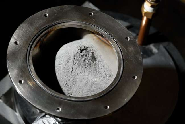 Iron powder as the battery of the future