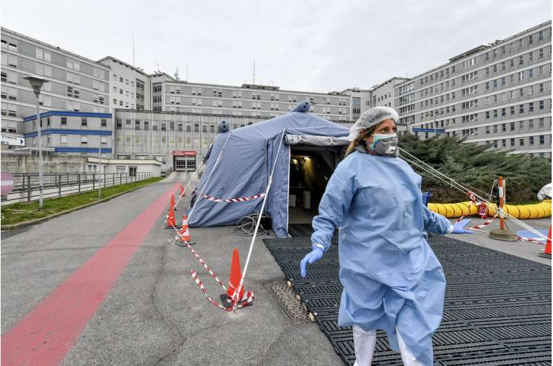 Italy's health system at limit in virus-struck Lombardy