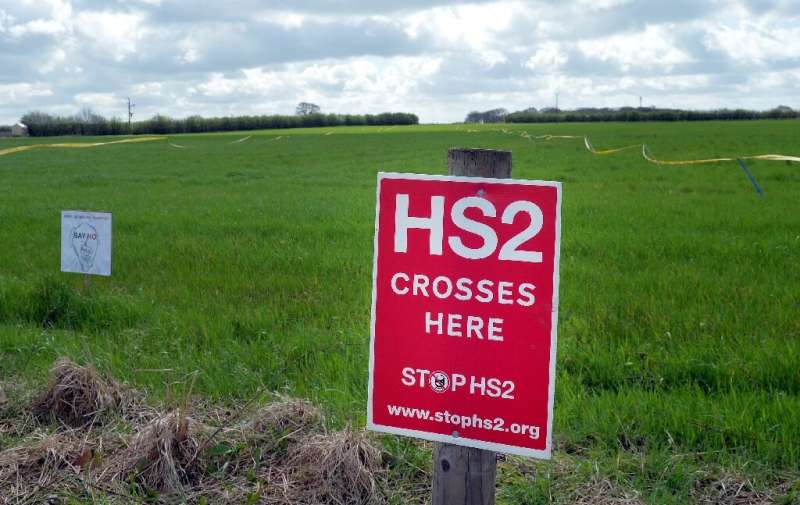 It is forecast that the HS2 project could cost more than £100 billion —double an official 2015 estimate