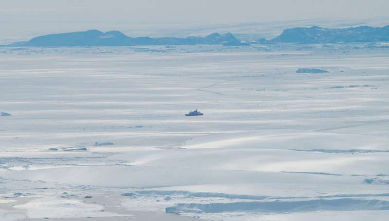 Japanese expedition identifies East Antarctic melting hotspot