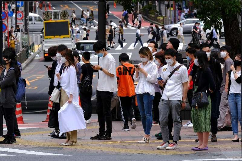 Japanese officials have urged citizens to sign up for the app
