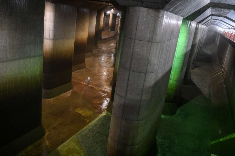 Japan's anti-flood systems are considered world-class, with the country having learnt bitter lessons from several mammoth disast