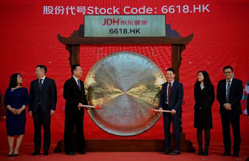 JD Health International's share sale is the biggest IPO in Hong Kong this year