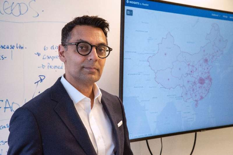 Kamran Khan, the founder of Toronto-based BlueDot, offers his clients real-time assessments of infectious disease outbreaks—and