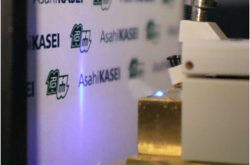 Laser diode emits deep UV light