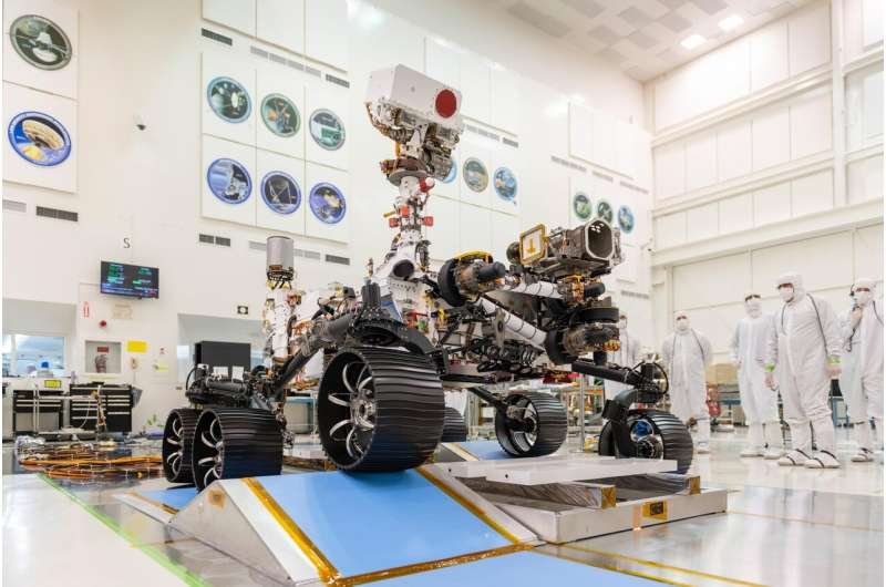 Launch is approaching for NASA's next Mars rover, Perseverance
